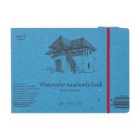 Альбом для акварели Smiltainis Authentic Watercolor А5 (24.5х17.6см) 280 г/м2 12 листов (4770644585725)