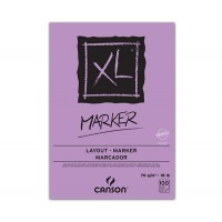 Склейка для маркера, гладкая, белая, А3 (29,7х42см), 70г/м.кв., 100л., XL, Canson