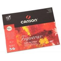 Склейка для масла Canson Figueras зернистость холста В3 (38х46см) 290 г/м2 10л.