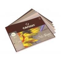Склейка для пастели Canson MI-TEINTES серая гамма 24 х 32 см 160 г/м2 30л.