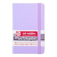Блокнот для графики Royal Talens Art Creation фиолетовый А6 (9х14см) 140 г/м2 80л.