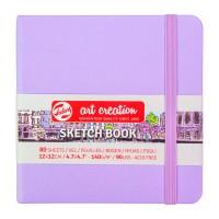 Блокнот для графики Royal Talens Art Creation фиолетовый 12х12см 140 г/м2 80л.