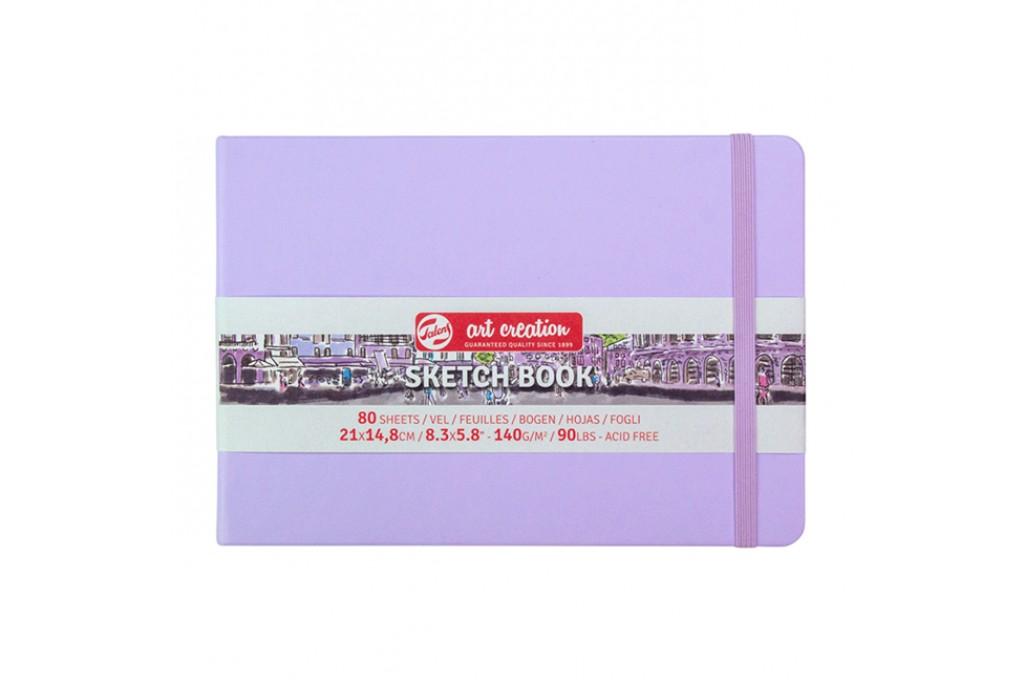 Блокнот для графики Royal Talens Art Creation фиолетовый A5 (14.8x21см) 140 г/м2 80 листов