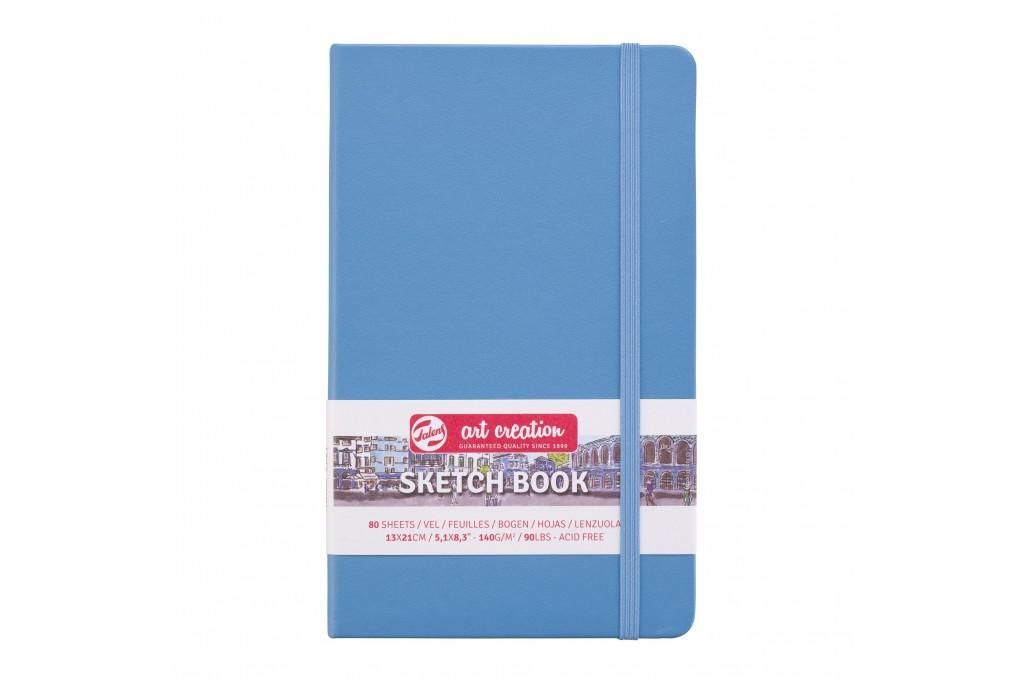 Блокнот для графики Royal Talens Art Creation голубой A5 (13х21см) 140 г/м2 80 листов