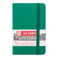 Блокнот для графики Royal Talens Art Creation зеленый А6 (9х14см) 140 г/м2 80л.