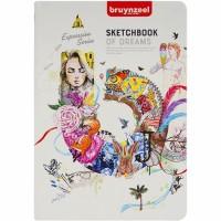 Блокнот для графики Bruynzeel SketchBook А4 (21х29.7см) 140 г/м2 80л.