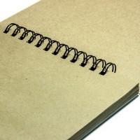 Альбом для эскизов, крафт, А4, 70г/м.кв., 40л., SketchPad Kraft, Alizarin