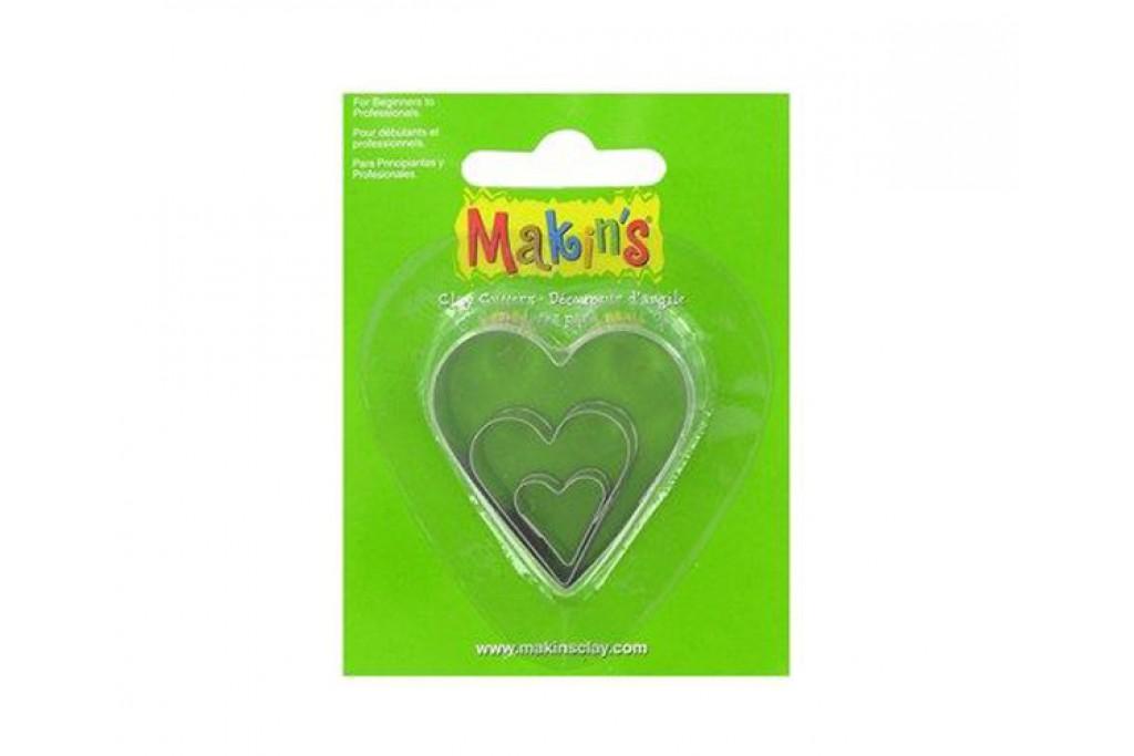 Набор катеров Makin's Сердце 3 шт (8712926303333)