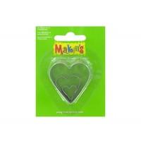 Набор катеров Makin's Сердце 3 шт