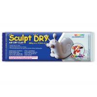 Пластика Mungyo Sculpt Dry самозатвердевающая 500 г белая