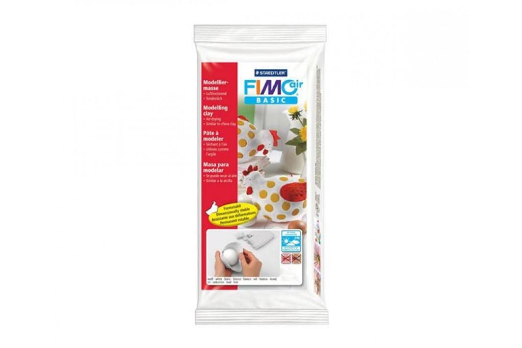 Пластика Fimo Air самозатвердевающая белая (4006608806484)