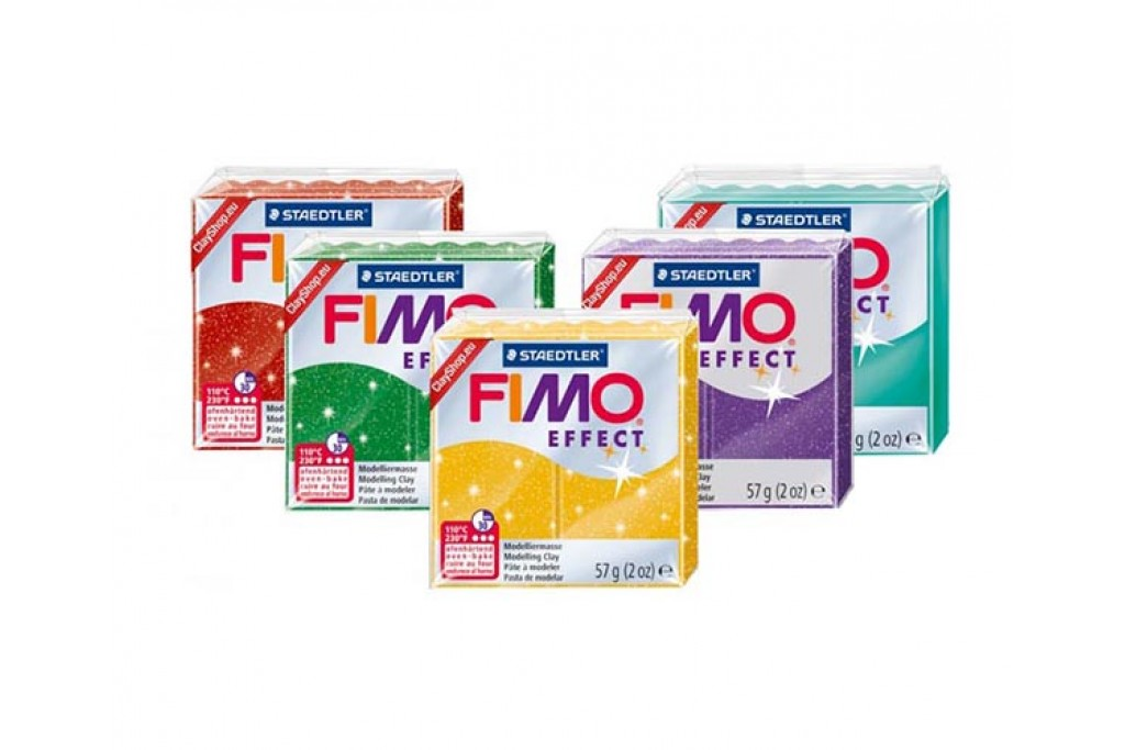 Пластика Fimo Effect под обжиг 57 г металлик