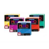Пластика Professional, средней мягкости, 85г, Fimo (24 цвета)
