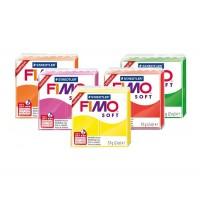 Пластика Soft, мягкая, 57г, Fimo (29 цвета)