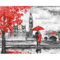 Картина по номерам BrushMe Контраст Лондона 40х50см