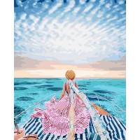 Картина по номерам BrushMe Вглубь Маврикий 40х50см