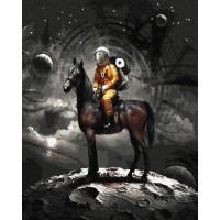 Картина по номерам BrushMe Космический рыцарь 40х50см