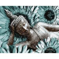 Картина по номерам BrushMe Медитативная практика 40х50см