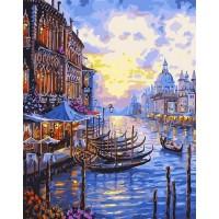 Картина по номерам BrushMe Венецианский пейзаж 40х50см