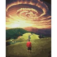 Картина по номерам BrushMe Путь странника 40х50см