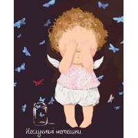 Картина по номерам Идейка Гапчинская Неслухняні метелики 40х50см коробка