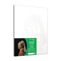 Набор акриловой живописи по номерам Девушка с жемчужной серёжкой 30х45 см