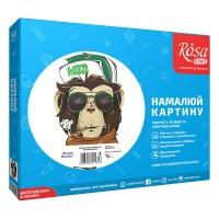 Картина по номерам Rosa Brutal Gorilla 35х45см коробка