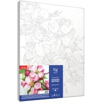 Картина по номерам Rosa Яблоневый цвет 35х45см