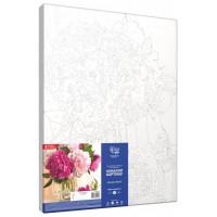 Картина по номерам Rosa Розовые пионы 35х45см