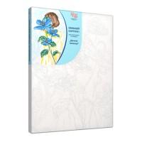 Набор акриловой живописи по номерам Девушка-загалка 30х45 см