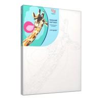 Набор акриловой живописи по номерам Cool giraffe 30х45 см