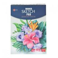 Альбом для маркеров Santi Marker Sketch Pad A4 (21х29.7см) 130 г/м2 32л.