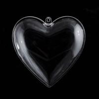 Пластиковая форма Сердце 8 см