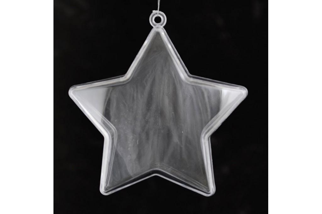 Пластиковая форма Звезда 8 см