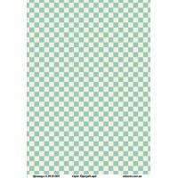 Бумага дизайнерская, Бирюзовые мечты, А4+, 200г/м2, Alizarin