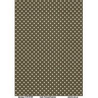 Бумага дизайнерская, Цветные точки, А4+, 200г/м2, Alizarin