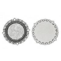 Основа, 31(20) мм, Античное серебро