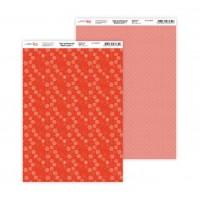 """Бумага дизайнерская Rosa """"Нежность цветов"""" 1 двусторонняя 21х30 см 200 г/м2"""