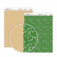 """Бумага дизайнерская """"Christmas"""" 2, двост., 21х29,7см, 200г/м2, ROSA Talent"""