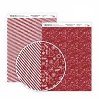 """Бумага дизайнерская """"Christmas"""" 4, двост., 21х29,7см, 250г/м2, ROSA Talent"""