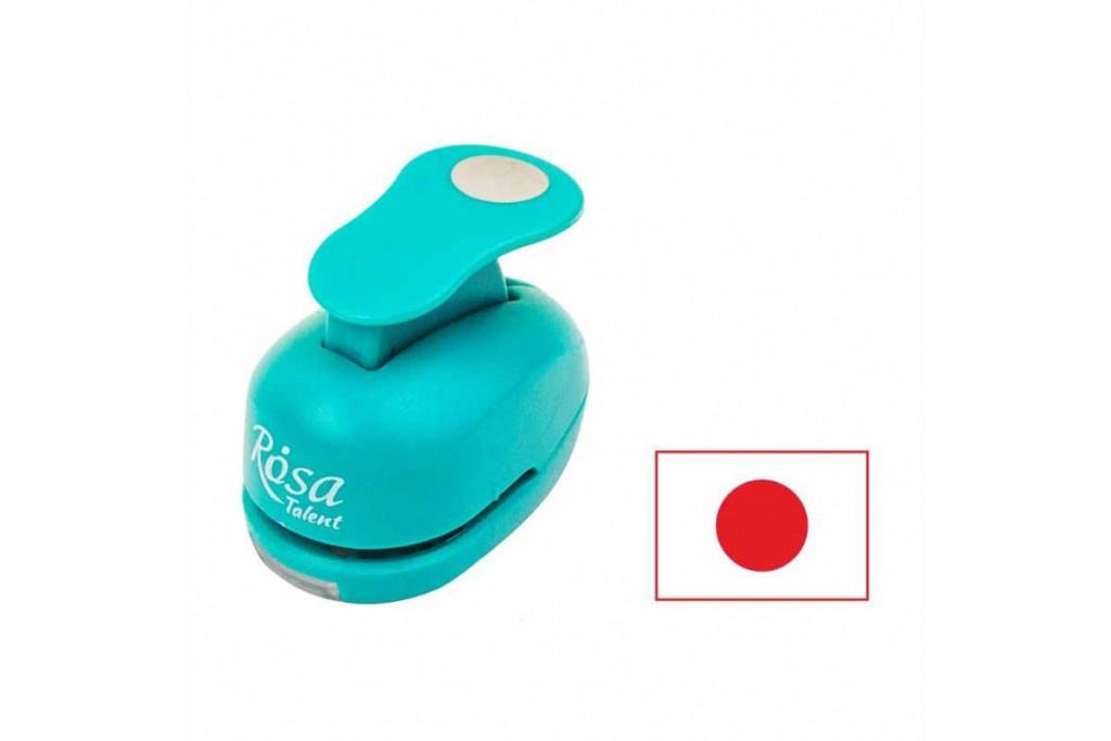 Фигурный дырокол, Круг, 1,6 см, ROSA Talent
