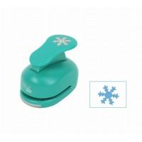 Дырокол фигурный, Снежинка №2, 3,8 см, Rosa Talent