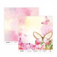 Бумага для скрапбукинга, Floral Poem 13, двост., 30,5х30,5см, 200г/м2, Rosa