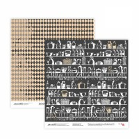 Бумага для скрапбукинга, Recipe book 3, двост., 30,5х30,5см, 200г/м2, Rosa