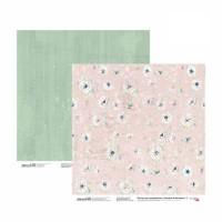 Бумага для скрапбукинга, Emotion & Romance 3, двост., 30,5х30,5см, 200г/м2, Rosa