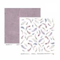 Бумага для скрапбукинга, Emotion & Romance 5, двост., 30,5х30,5см, 200г/м2, Rosa