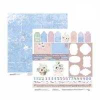 Бумага для скрапбукинга, Emotion & Romance 9, двост., 30,5х30,5см, 200г/м2, Rosa
