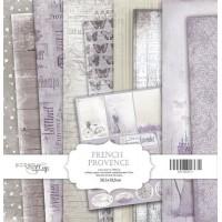 Набор односторонней бумаги, French Provence, 30х30см, 10л., Scrapmir