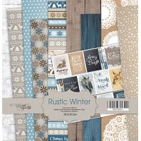 Набор односторонней бумаги, Rustic Winter, 30х30см, 10л., Scrapmir