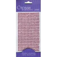 Стразы самоклеющие, Розовые, 5мм, 375шт, Rosa